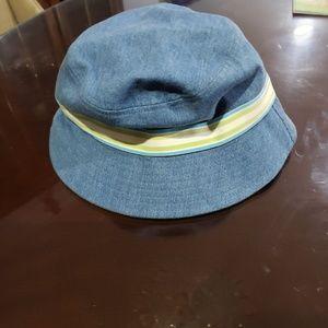 100% Cotton size M stylish Summer hat Lands End